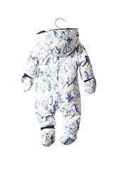 Combi-pantalon bleu CATIMINI pour garçon seconde vue