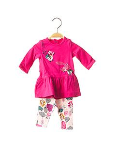 Top/pantalon rose CATIMINI pour fille