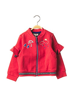 Veste casual rouge CATIMINI pour fille