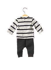 Top/pantalon noir CATIMINI pour garçon seconde vue