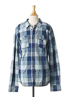 Chemise manches longues bleu CATIMINI pour garçon