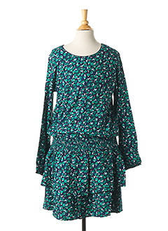 Robe mi-longue vert CATIMINI pour fille