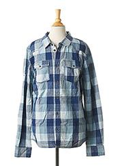 Chemise manches longues bleu CATIMINI pour garçon seconde vue