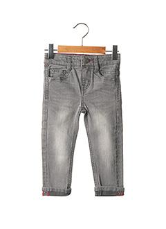 Jeans coupe slim gris ESPRIT pour fille