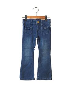 Jeans coupe large bleu ESPRIT pour fille