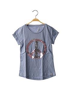 T-shirt manches courtes bleu ESPRIT pour fille