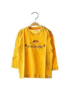 T-shirt manches longues jaune ESPRIT pour garçon