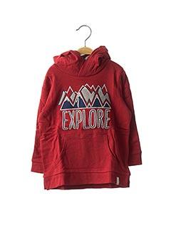 Sweat-shirt rouge ESPRIT pour garçon