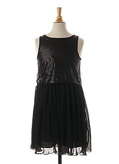 Robe mi-longue noir ESPRIT pour fille