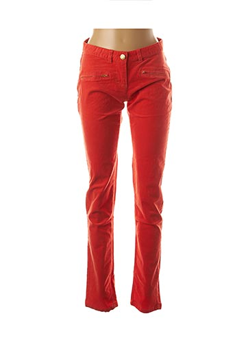 Pantalon casual orange ESPRIT pour fille