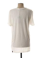 T-shirt manches courtes blanc STRELLSON pour homme seconde vue