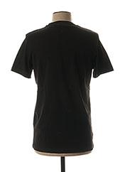 T-shirt manches courtes noir KARL LAGERFELD pour homme seconde vue