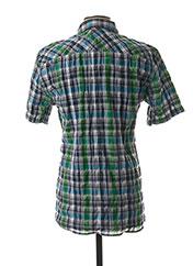 Chemise manches courtes bleu STRELLSON pour homme seconde vue