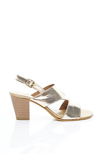 Sandales/Nu pieds jaune ARIMA pour femme