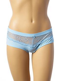 Shorty/Boxer bleu AFFINITAS pour femme