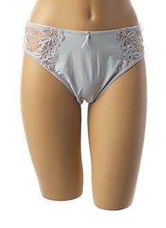 Slip/Culotte gris FRANCOISE SAGET pour femme
