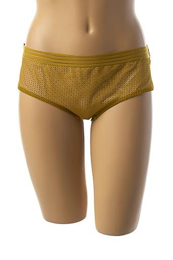 Shorty/Boxer vert ETAM pour femme