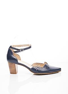 Escarpins bleu FIDJI pour femme