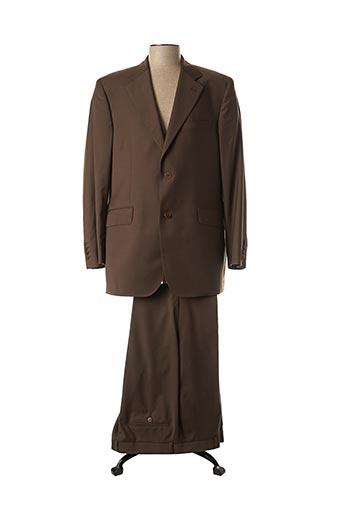 Costume de ville marron COBALT pour homme