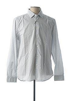 Chemise manches longues bleu ALTEA pour homme