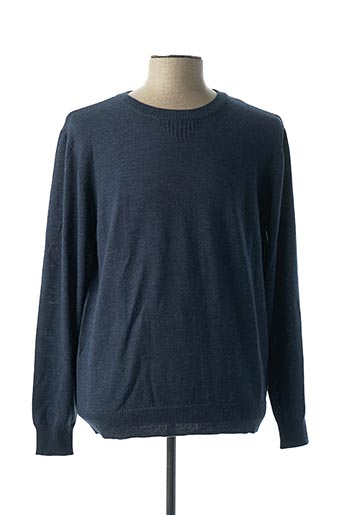 Pull col rond bleu HYMN pour homme