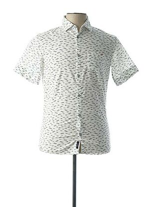 Chemise manches courtes blanc ARMANI pour homme