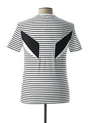 T-shirt manches courtes blanc NEIL BARRETT pour homme seconde vue