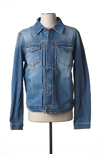 Veste en jean bleu DANIEL CREMIEUX pour homme