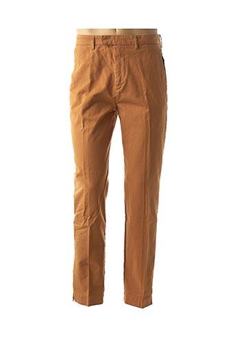 Pantalon casual orange AGNES B pour homme