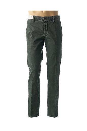 Pantalon casual vert INCOTEX pour homme