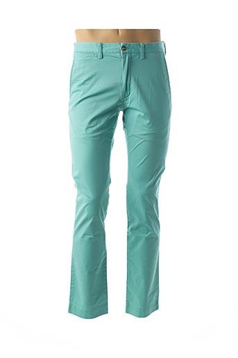Pantalon casual vert RALPH LAUREN pour homme