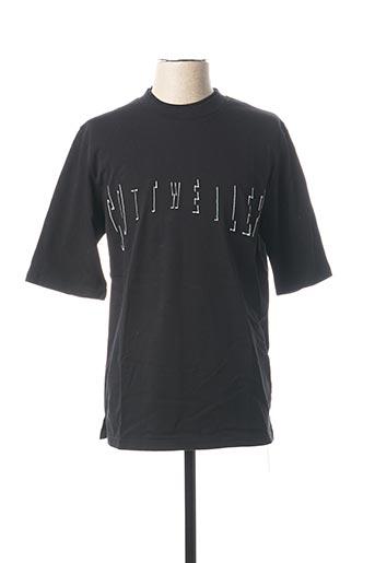 T-shirt manches longues noir COTTWEILER pour homme