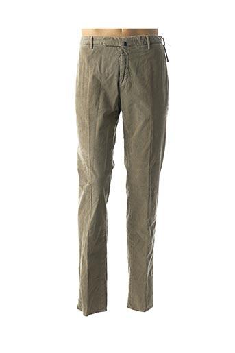 Pantalon chic vert INCOTEX pour homme