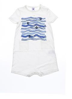 Combi-pantalon blanc PETIT BATEAU pour enfant