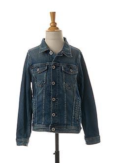 Veste en jean bleu PEPE JEANS pour enfant