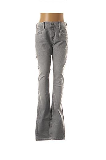 Pantalon casual gris PEPE JEANS pour enfant