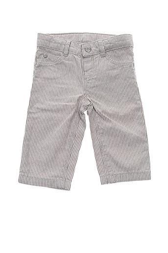 Pantalon casual gris PETIT BATEAU pour enfant