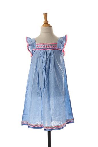 Robe mi-longue bleu SUNUVA pour fille