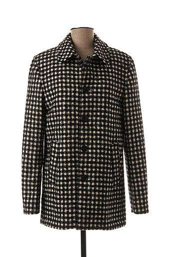 Manteau court noir AGNES B pour femme