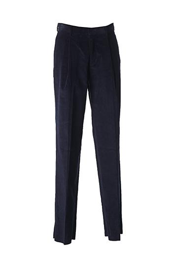 Pantalon chic bleu E.TAUTZ pour homme