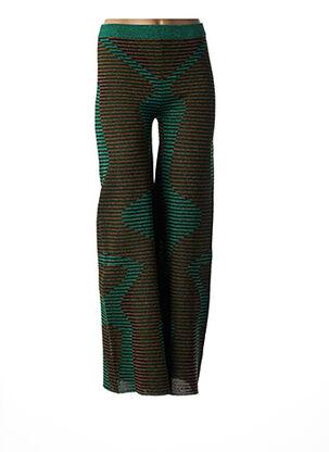 Pantalon chic vert BY MALENE BIRGER pour femme