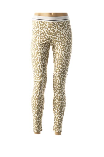 Legging beige LOVE STORIES pour femme