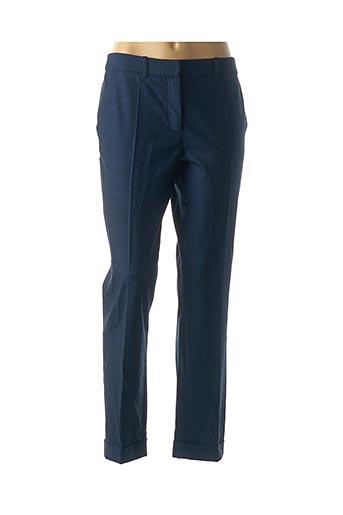 Pantalon chic bleu PAULE KA pour femme