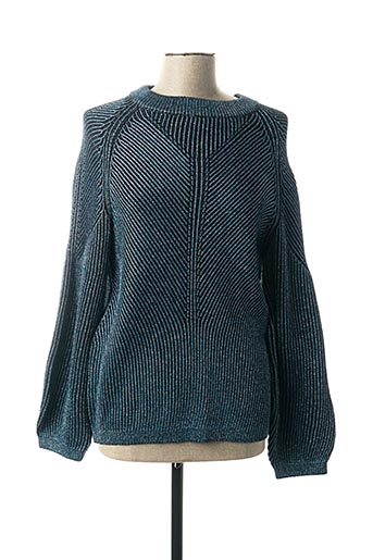 Pull col rond bleu BY MALENE BIRGER pour femme
