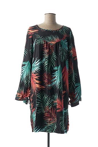 Robe mi-longue vert MY SUNDAY MORNING pour femme
