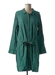 Robe mi-longue vert MY SUNDAY MORNING pour femme seconde vue