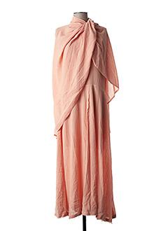 Robe mi-longue rose NINA RICCI pour femme