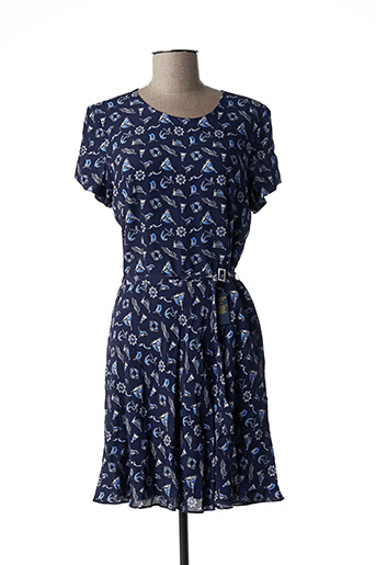 Robe courte bleu RALPH LAUREN pour femme