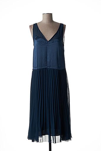Robe mi-longue bleu BY MALENE BIRGER pour femme