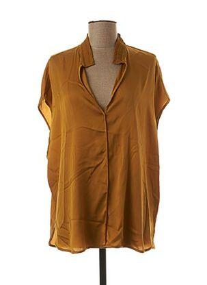 Blouse manches courtes jaune BY MALENE BIRGER pour femme